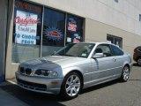 2001 Titanium Silver Metallic BMW 3 Series 325i Coupe #66681505