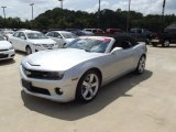 2012 Silver Ice Metallic Chevrolet Camaro SS Convertible #66681235