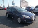 2012 Kona Blue Metallic Ford Focus SE Sedan #66680917