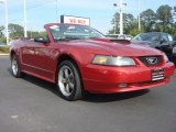 2002 Laser Red Metallic Ford Mustang GT Convertible #66681494