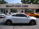 2007 Alabaster Silver Metallic Honda Civic Si Coupe #66681220