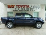 2012 Nautical Blue Metallic Toyota Tacoma V6 SR5 Double Cab 4x4 #66680905