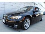 2009 Jet Black BMW 3 Series 328xi Coupe #66680904