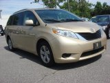 2011 Sandy Beach Metallic Toyota Sienna LE #66680852