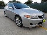 2008 Acura TSX Alabaster Silver Metallic