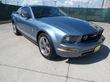 2006 Windveil Blue Metallic Ford Mustang V6 Premium Coupe #66681151