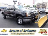 2003 Dark Gray Metallic Chevrolet Silverado 2500HD LS Extended Cab 4x4 #66681131