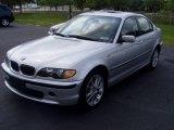2004 Titanium Silver Metallic BMW 3 Series 330xi Sedan #663178