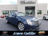 2009 Blue Diamond Tri-Coat Cadillac CTS 4 AWD Sedan #66680801