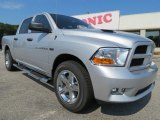 2012 Bright Silver Metallic Dodge Ram 1500 Express Crew Cab #66681119
