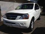 2009 Clear White Kia Sorento LX 4x4 #66680777