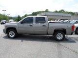 2009 Graystone Metallic Chevrolet Silverado 1500 LT Crew Cab 4x4 #66681351