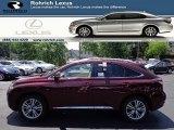 2013 Claret Red Mica Lexus RX 450h AWD #66681084