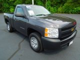 2011 Taupe Gray Metallic Chevrolet Silverado 1500 Regular Cab #66681340