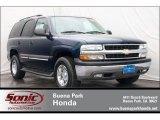 2004 Dark Blue Metallic Chevrolet Tahoe LS #66681069