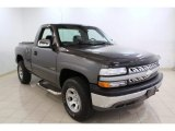 2000 Charcoal Gray Metallic Chevrolet Silverado 1500 LS Regular Cab 4x4 #66681334