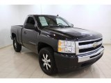 2009 Black Chevrolet Silverado 1500 Regular Cab #66681329