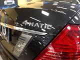 2012 Mercedes-Benz CL 550 4MATIC Marks and Logos
