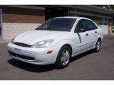 2003 Cloud 9 White Ford Focus SE Sedan #66736776