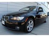 2009 Jet Black BMW 3 Series 328xi Coupe #66736407