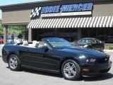 2011 Ebony Black Ford Mustang V6 Convertible #66736761