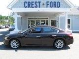 2010 Crimson Black Nissan Maxima 3.5 SV Premium #66736747