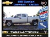 2012 Silver Ice Metallic Chevrolet Silverado 1500 LS Extended Cab #66736731