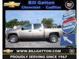 2012 Graystone Metallic Chevrolet Silverado 1500 LS Crew Cab #66736730