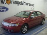 2008 Vivid Red Metallic Lincoln MKZ AWD Sedan #66736524