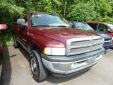 2001 Dark Garnet Red Pearl Dodge Ram 1500 ST Regular Cab 4x4 #66736511