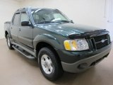2002 Aspen Green Metallic Ford Explorer Sport Trac 4x4 #66736332