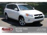2012 Blizzard White Pearl Toyota RAV4 V6 Limited 4WD #66736303