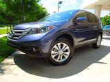 2012 Twilight Blue Metallic Honda CR-V EX 4WD #66736637