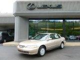 2002 Naples Gold Metallic Honda Accord LX Sedan #66736619