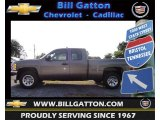 2012 Mocha Steel Metallic Chevrolet Silverado 1500 LS Extended Cab #66736732