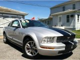 2005 Satin Silver Metallic Ford Mustang V6 Premium Coupe #66767926