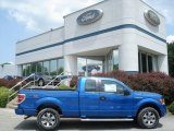 2012 Blue Flame Metallic Ford F150 STX SuperCab 4x4 #66767879