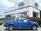 2012 Blue Flame Metallic Ford F150 STX SuperCab 4x4 #66767876