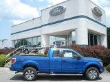 2012 Blue Flame Metallic Ford F150 STX SuperCab 4x4 #66767876