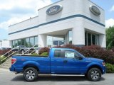 2012 Blue Flame Metallic Ford F150 STX SuperCab 4x4 #66767873