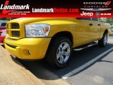 Detonator Yellow Dodge Ram 1500 in 2008