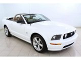 2006 Performance White Ford Mustang GT Premium Convertible #66774282