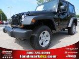 2012 Black Jeep Wrangler Sport 4x4 #66774040
