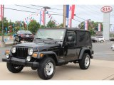 2006 Black Jeep Wrangler Unlimited 4x4 #66774501
