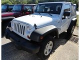 2012 Bright White Jeep Wrangler Sport 4x4 #66774260