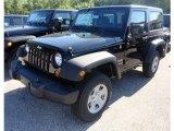 2012 Black Jeep Wrangler Sport 4x4 #66774259