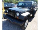 2012 Black Jeep Wrangler Sport S 4x4 #66774258