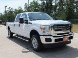 2012 Oxford White Ford F250 Super Duty XLT Crew Cab 4x4 #66774491