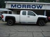 2009 Summit White Chevrolet Silverado 1500 Extended Cab 4x4 #66773998