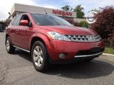 2007 Sunset Red Pearl Metallic Nissan Murano SL AWD #66773991